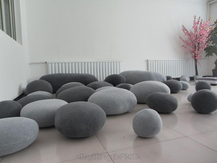 ITEM NAME, STONES SHAPE PILLOW/ PILLOWCASE