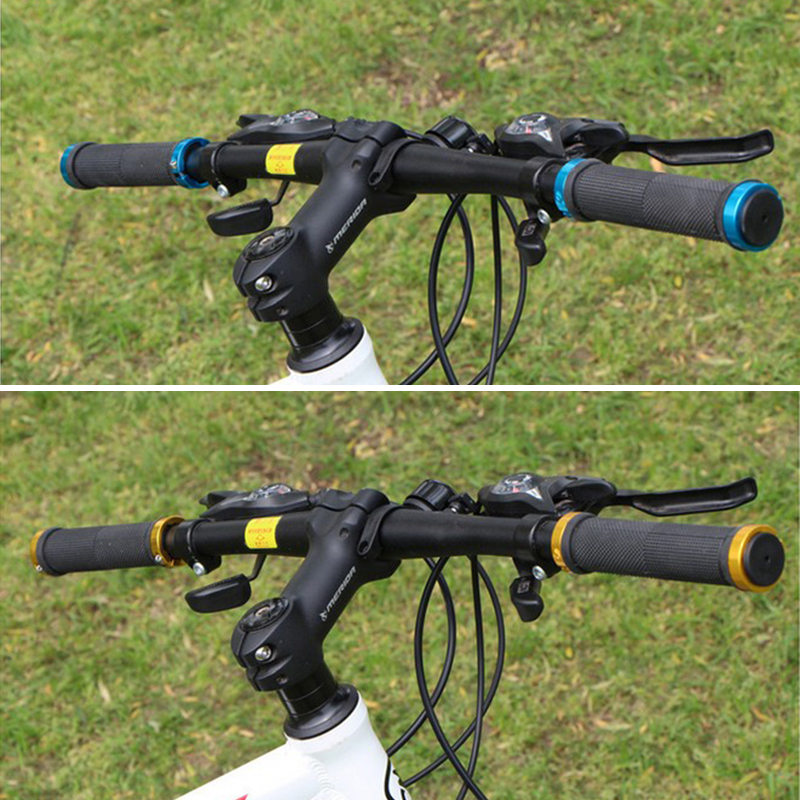 DOUBLE LOCK ON LOCKING MTB MOUNTAIN BMX BIKE CYCLE BICYCLE HANDLE BAR GRIPS UP