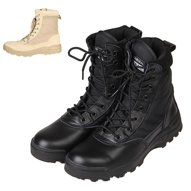 95c3d4c12 Details about New Work Outdoor Hiking Boots High-top Military Boots Men s  Shoes Desert Boots