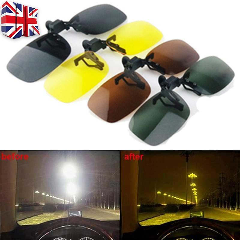 Anti-glare polarizing glasses clip Night vision goggles TAC Lens metal Frame