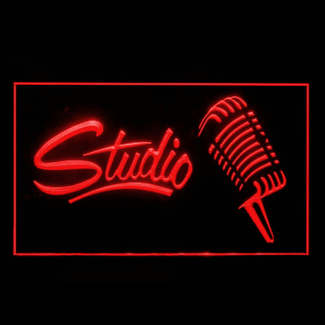 Recording studio lighted sign Microphone On Air LED display