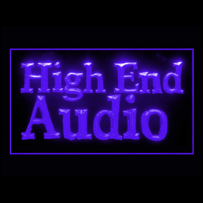 140118 High End Audio Performance Musicians Artists Live Music LED Light Sign