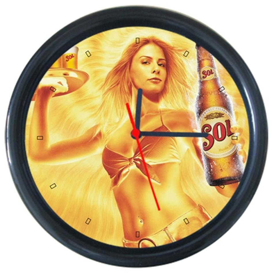 Chang patten #2 Cola Beer Beverage Bar Pub Club Round Wall Clock