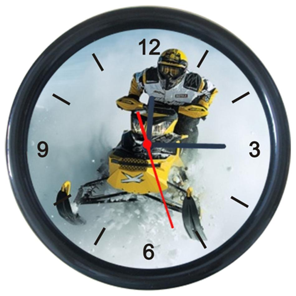 BRP Can-AM Team Snow Motorbike Cool Motorcycle Design Wall Clock | eBay