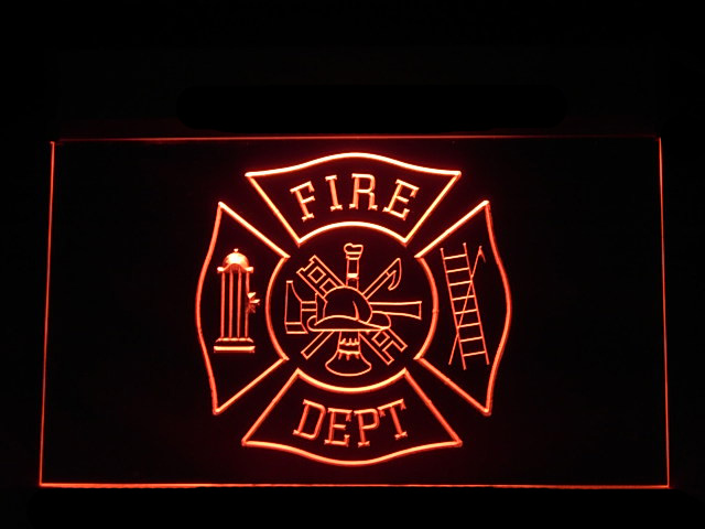 ST LOUIS FIRE DEPT Home Decor Metal Sign Police Gift 106180013051