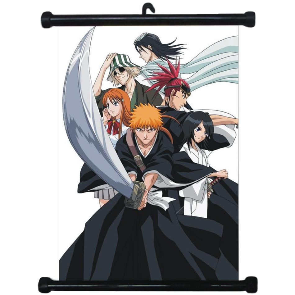 HOT Japan Anime Bleach Wall Poster Scroll Home Decor Cosplay 1512