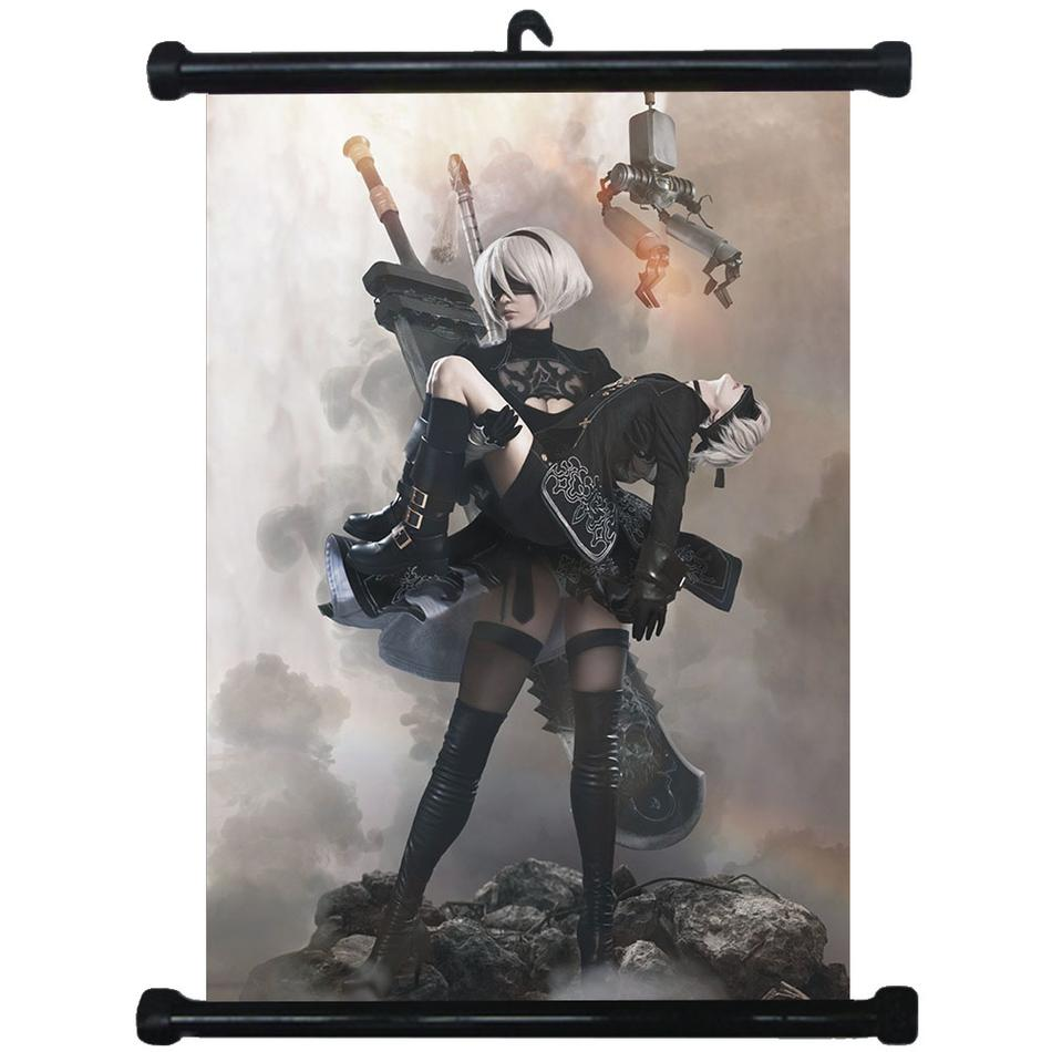 @17 NieR Automata Home Decor Anime Poster Wall Scroll Gift Collection 40*60cm