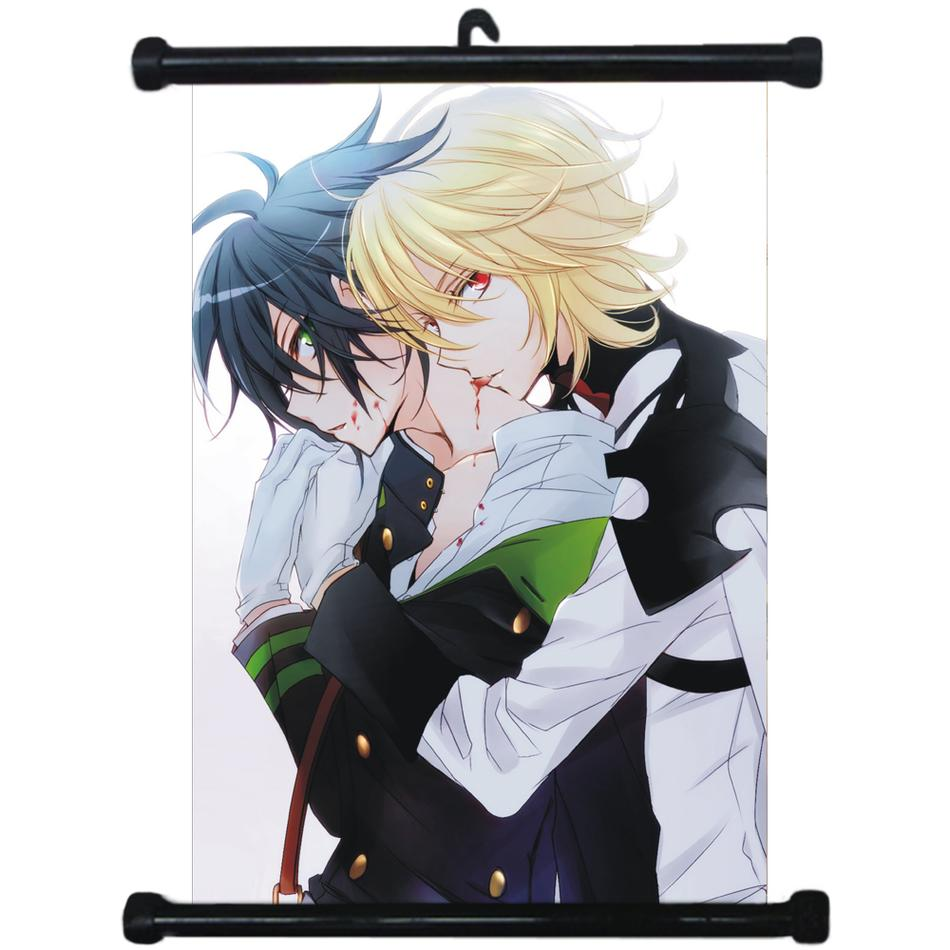 Hot Japan Anime Seraph of the end Wall Poster Scroll Home Decor 1272