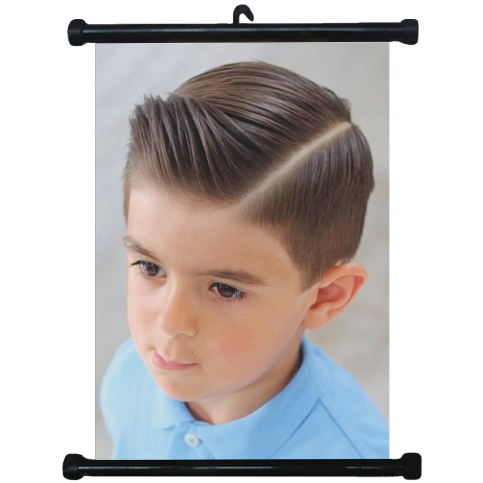 Details about sp217152 Boy Hairstyles Wall Scroll Poster For Barber Salon  Haircut Display