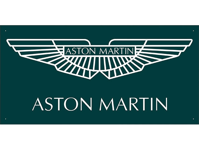 vn0827 Aston Martin Sales Service Parts for Advertising Display Banner Sign