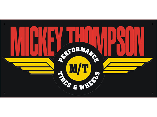 vn0949 Mickey Thompson Car Auto Parts Club Shop Display Advertising Banner
