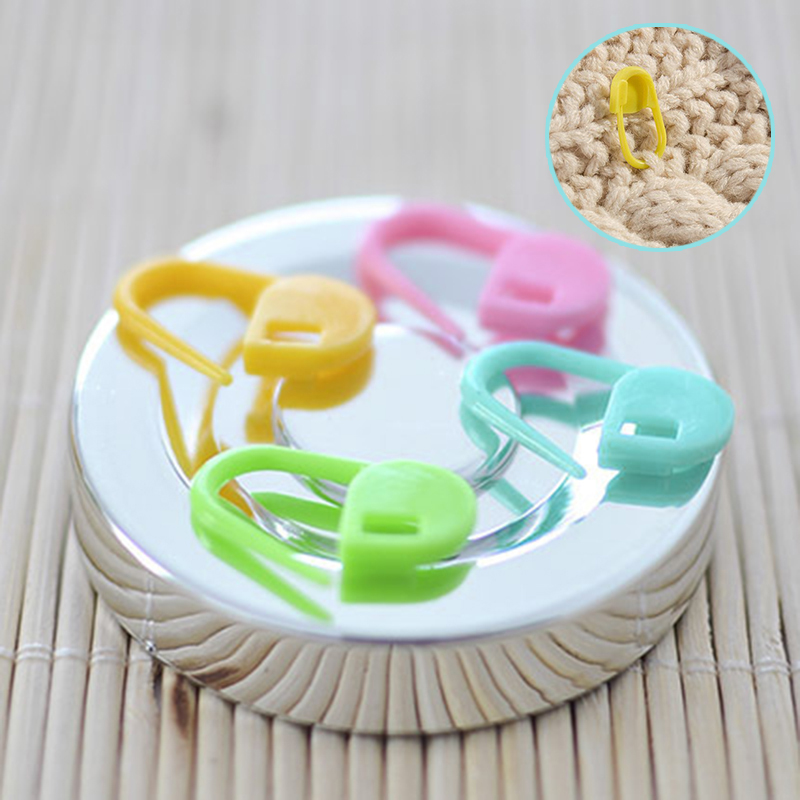 120pcs//set 10Colors Knitting Accessories Crochet Locking Stitch Markers TooYJUS