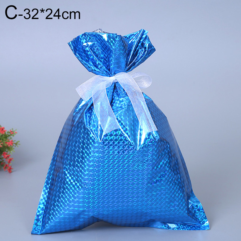 Food Cookie Gift Pouch 15 x 24cm 10PC Drawstring Christmas Gift Bag Party