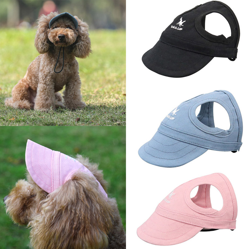 Puppy Pet Dog Baseball Sun Hat Cap With