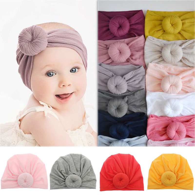 10Pcs Colorful Baby Kids Toddler Headwear Bow Knot Hairband Headband  ❤ US