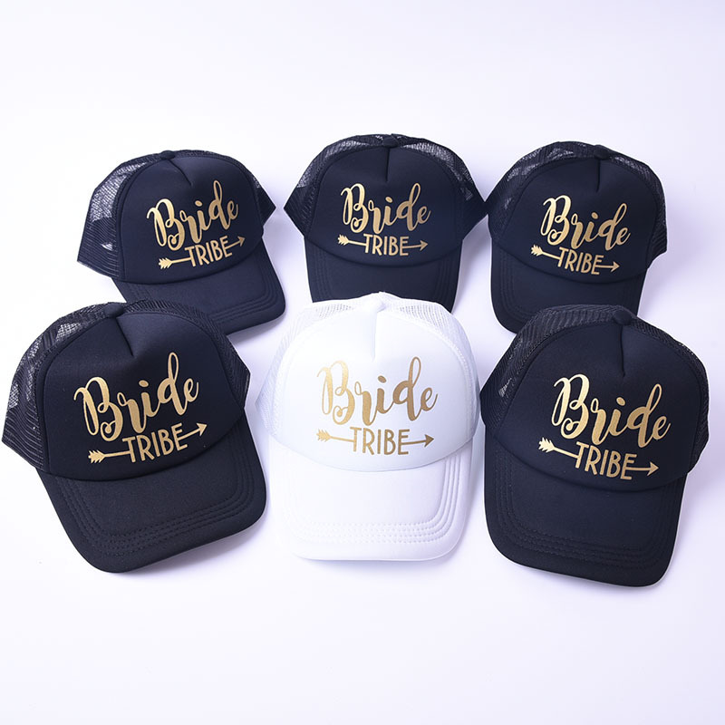 9f32b8fe Details about Unisex Team Bride Groom Squad Baseball Cap Mesh Hip-hop  Snapback Hats Summer