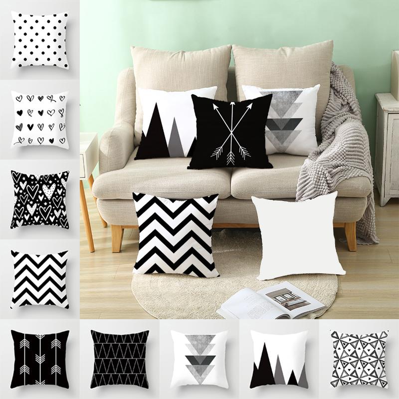 Cases Throw Pillow Sofa Back Cushions