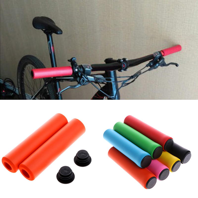 Details about  /1Pair Cycling Bike Bicycle MTB Handlebar Grips Rubber Anti-slip Handle Grip