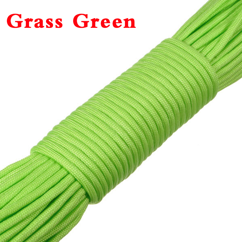 1x100FT 550lb 7 Strand Parachute Cord Army Military Outdoor Sports Paracord Rope