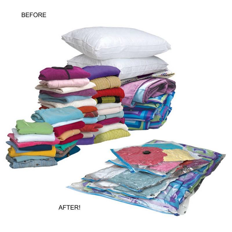 Travel Vacuum Storage E Saving Home Bags Vac Bag Saver Va Ebay