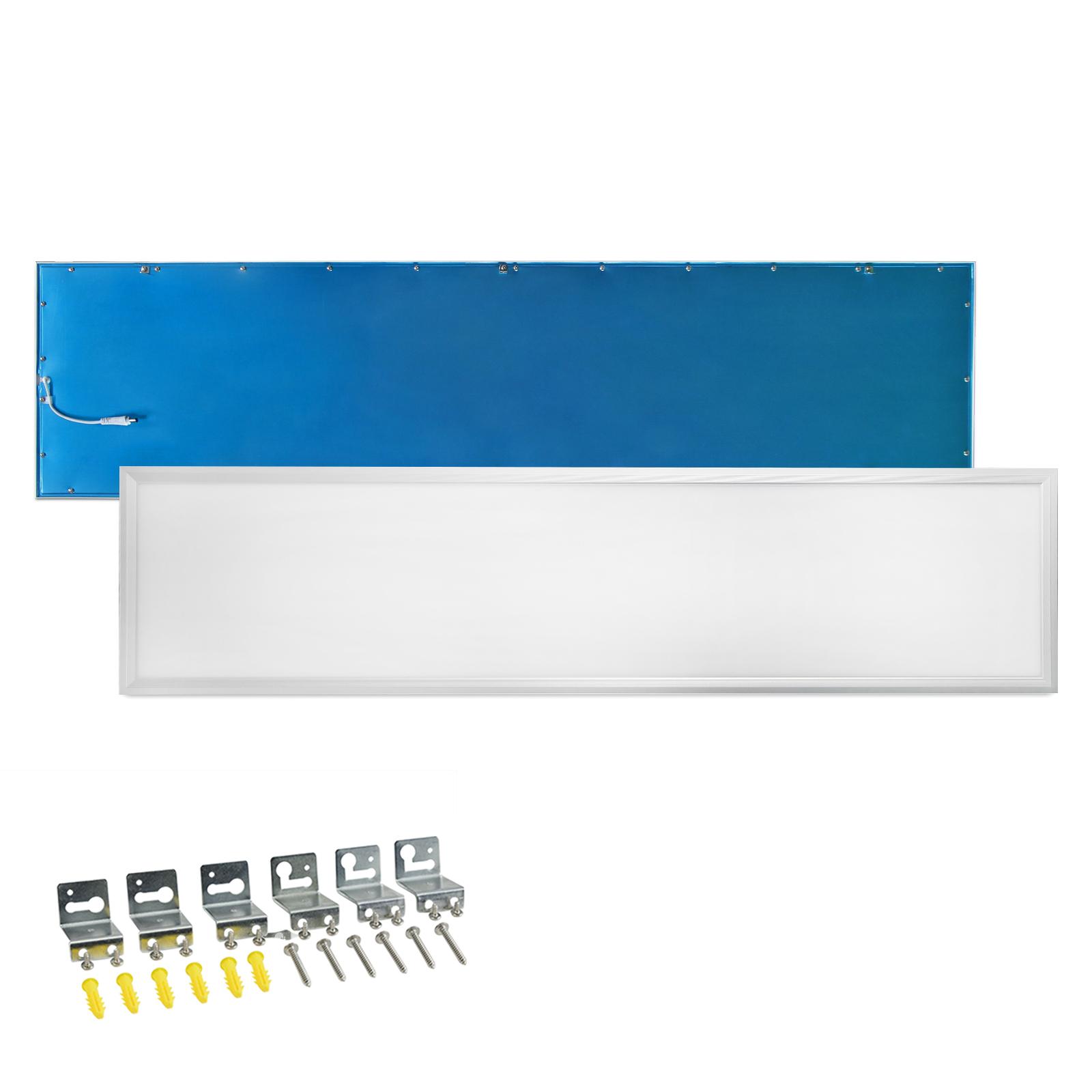 led panel 120x30 ultraslim lampe deckenleuchte pendelleuchte wandleuchte 40w ebay. Black Bedroom Furniture Sets. Home Design Ideas
