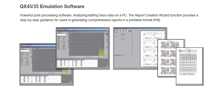 QX45/35 Emulation Software