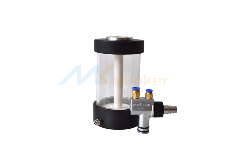 Baoer Small Fluidized Powder Hopper Cup with Pump for Powder Coating System with Pump