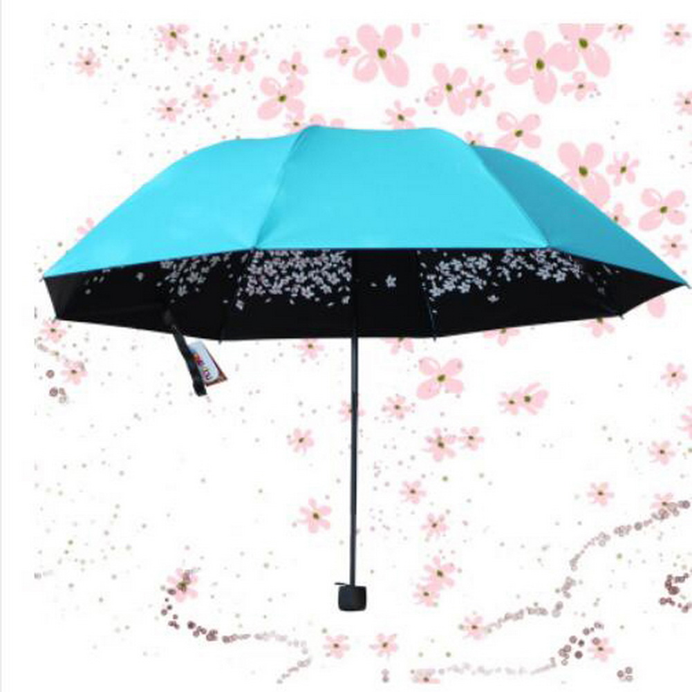 Woman Sakura Windproof Anti UV Sun/Rain Princess Cherry ...