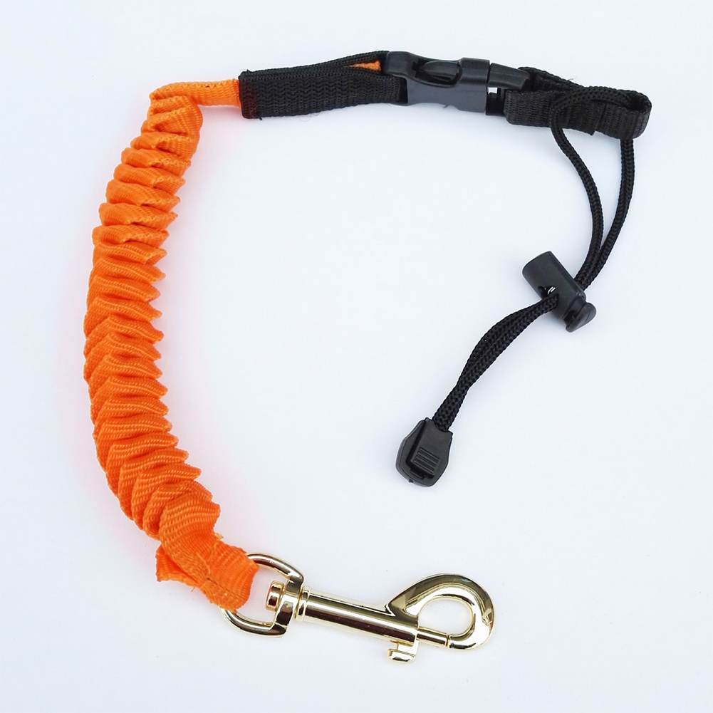 Kayak canoe paddle leash safety rope fishing rod surfing for Fishing rod leash