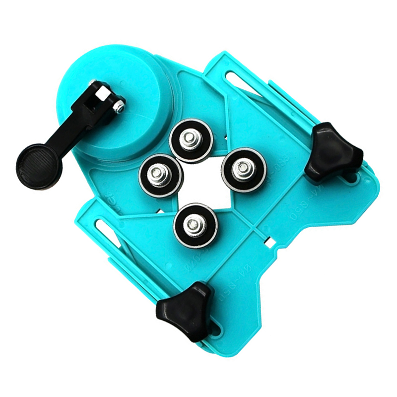Tile Punch Locator Glass Marble Punch Holder Rubber Suction Cup Fixer Multi-Function Adjustable Hole Positioning Tool used for Positioning Drill Bit