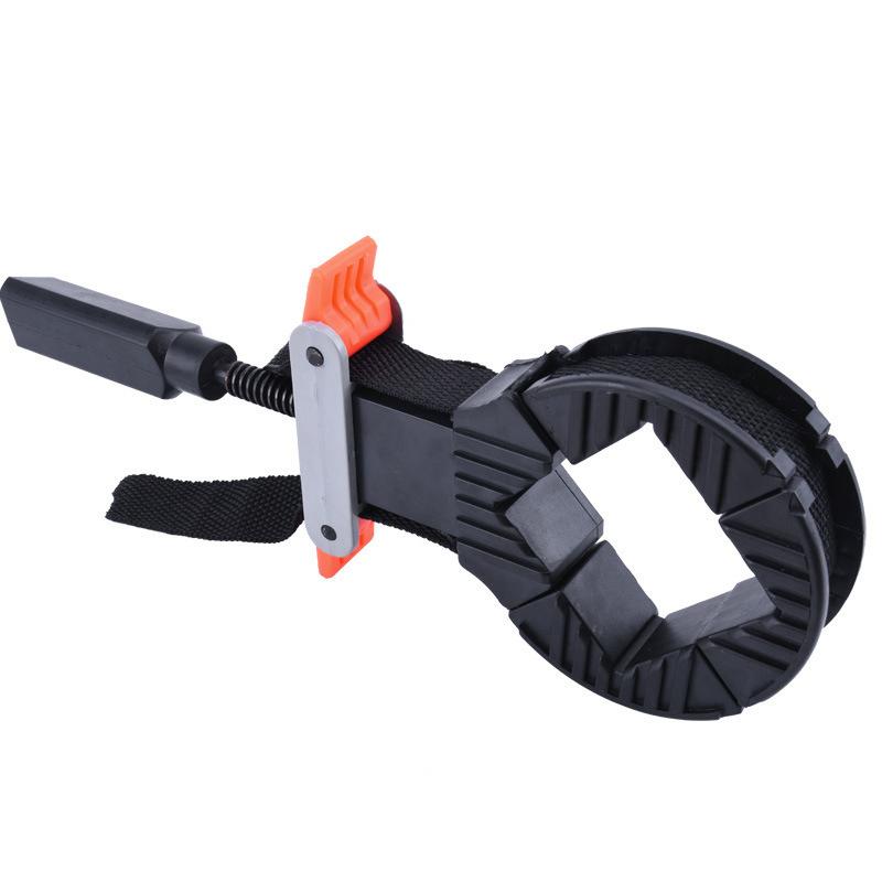 4 Jaws Rapid Clamp Corner Band Strap Holder Adjust For Woodworking Picture Frame