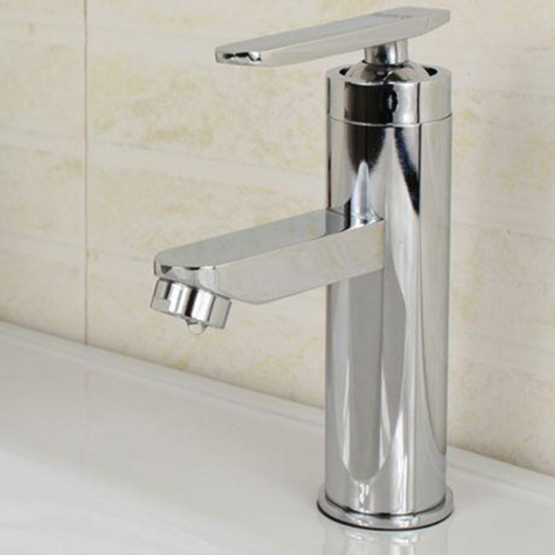 0-90° Bathroom Faucet Waterfall Mixer One Hole//Handle Basin Sink Tap Cold/&Hot