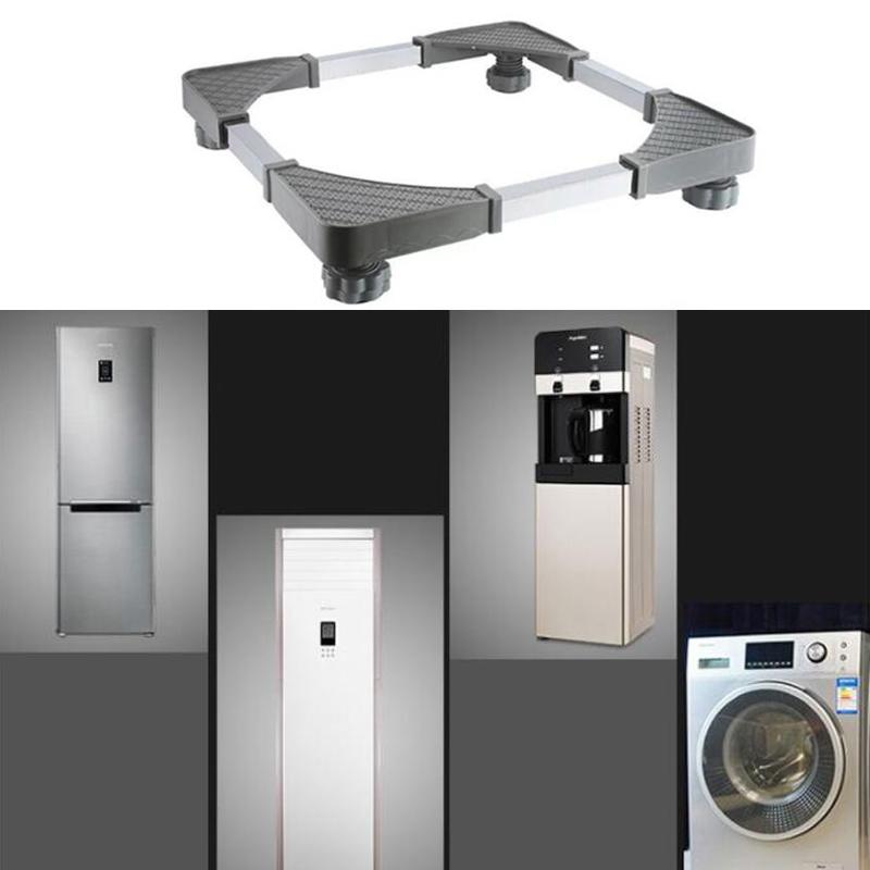 Color : A BINZHI Washing Machine Stainless Steel Storage Bracket for Furniture Refrigerator Washing Machine Heavier Items 51x49x8cm Furniture Mover