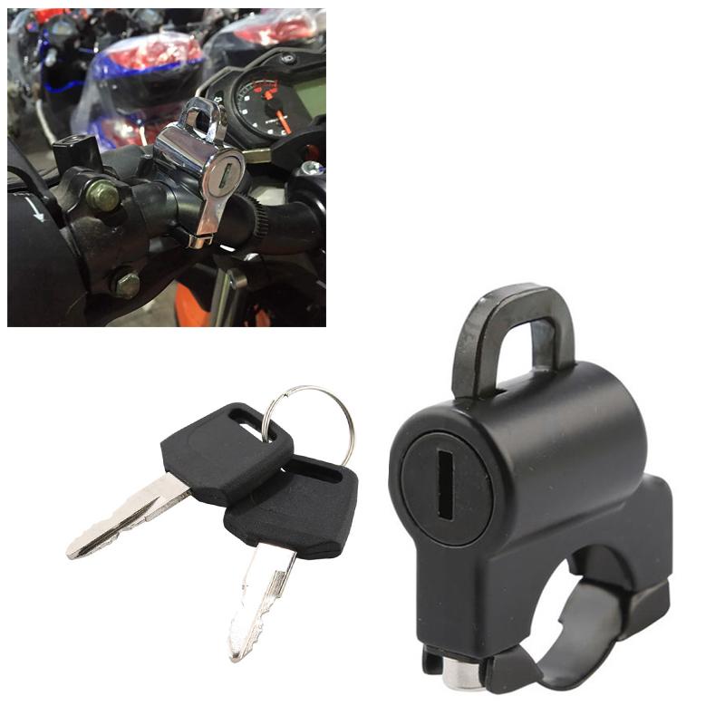 """7//8/"""" )Handlebar Helmet Lock Hange For Motorcycle Motorbike Bike Universal 22mm"""