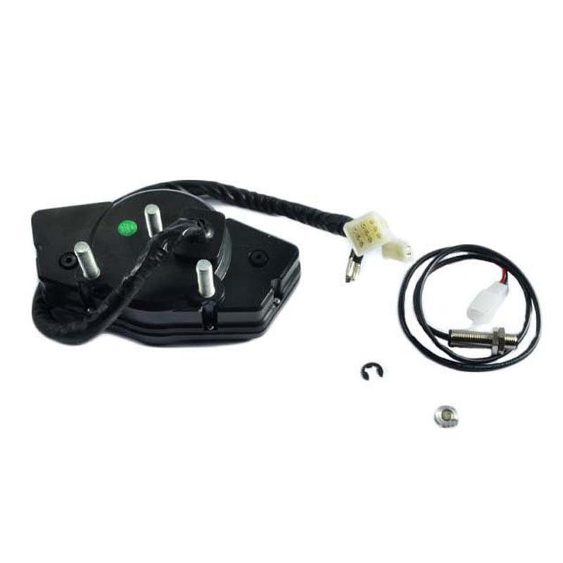 Dc 12v Motorcycle 15000rpm Lcd Digital Odometer Speedometer Tachometer Gauge Kit