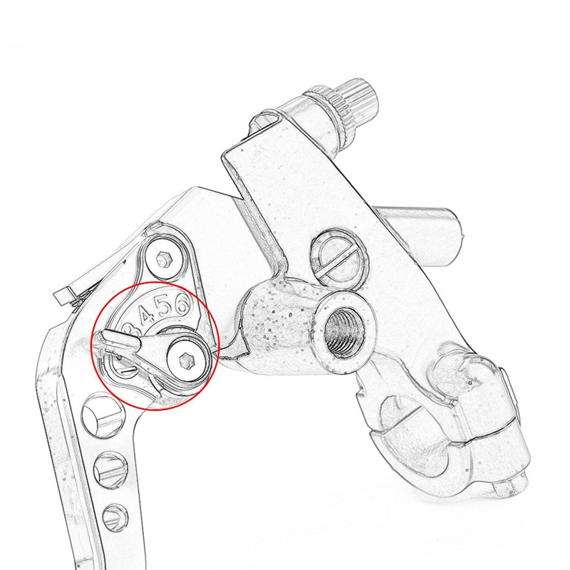 Adjustable Motorcycle 78cnc Front Brake Clutch Master Cylinder