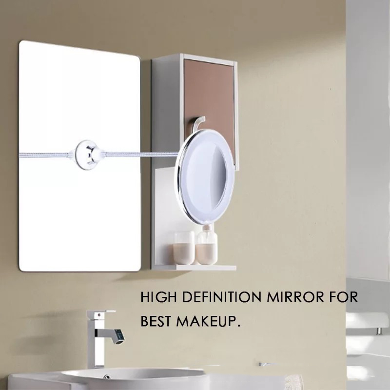 Flexible Mirror On Table Wall 10x Magnifying With Bendable