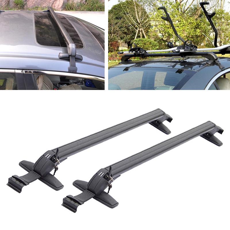 Roof Rack Cross Bars AS Steel 110cm Daewoo Nexia.