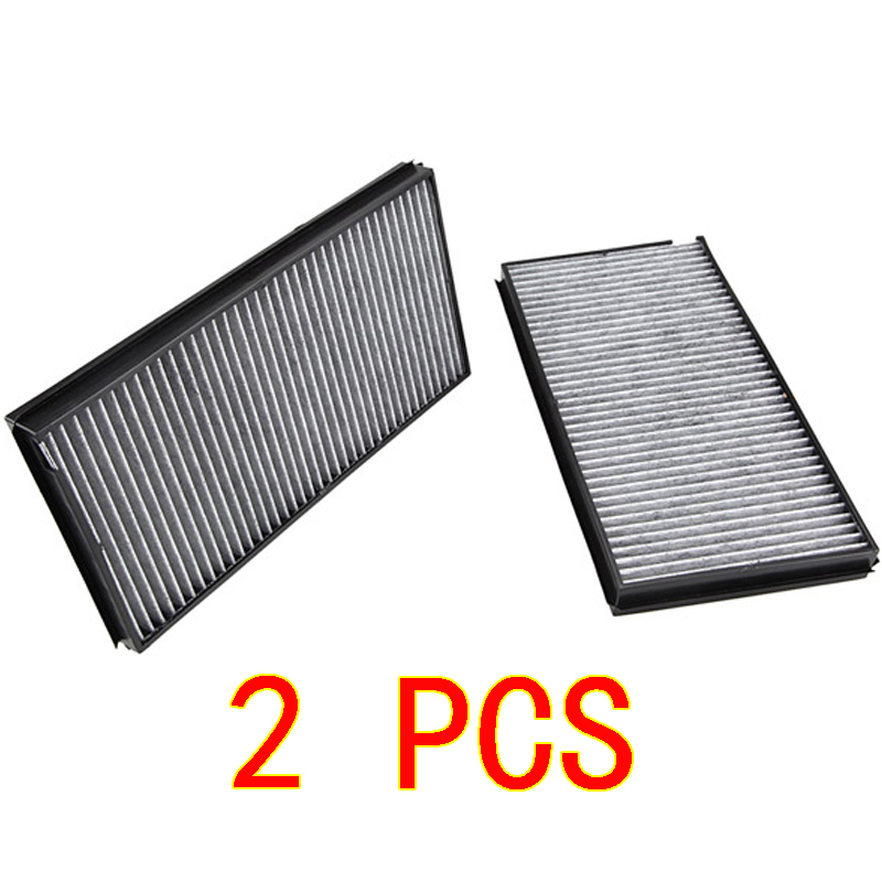 2 PCS Cabin Air Filter For BMW M5 M6 E60 528i 535i 535xi 545i 550i 650i awesome