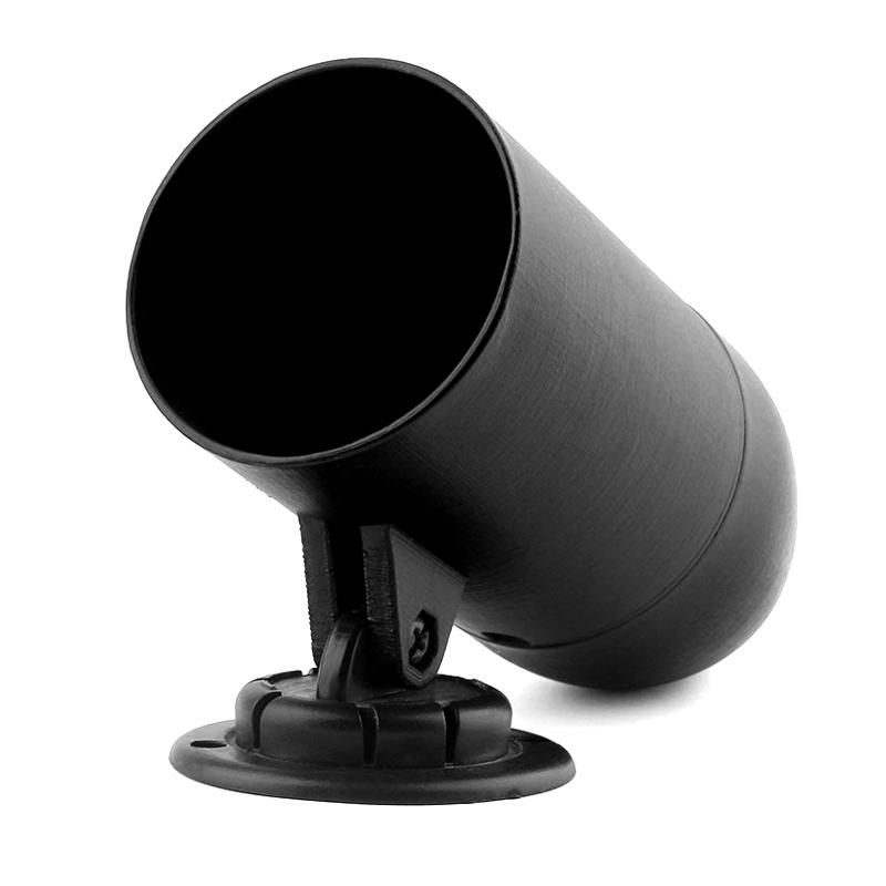 2inch 52mm Single Hole Pod Gauge Meter Mount Holder Black