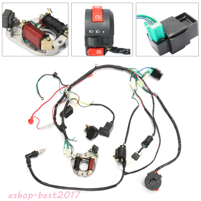 Cdi Wire Harness Stator Assembly Wiring For 50cc