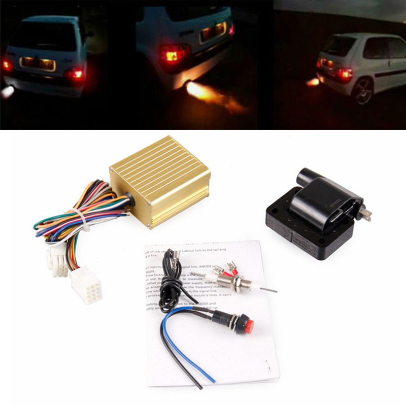 Details about Exhaust Flame Thrower Kit Universal For Car Motor ATV Fire  Burner Afterburn Well
