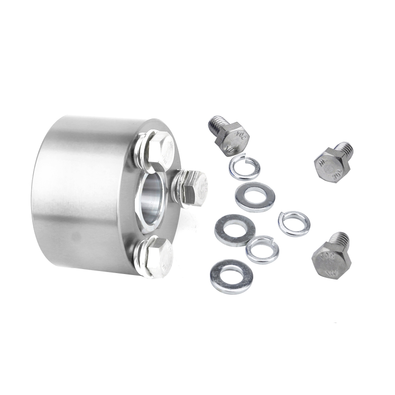 Universal Car Racing Steering Wheel Quick Release Disconnect Hub Adapter Silver