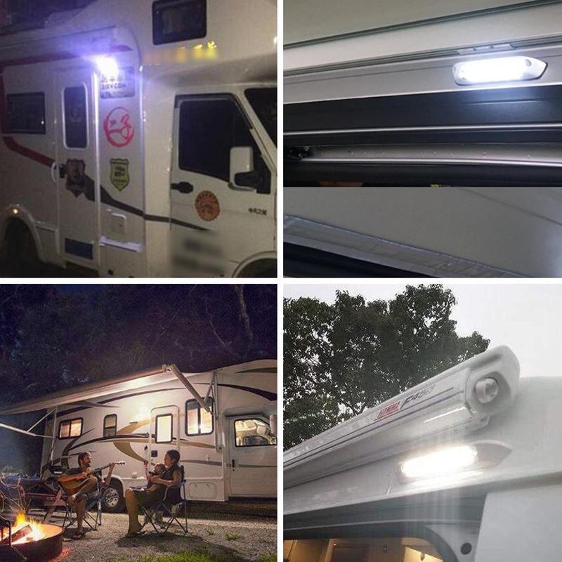Car RV Ship Roof Dome Lamp Ceiling Lighting 12V LED ...