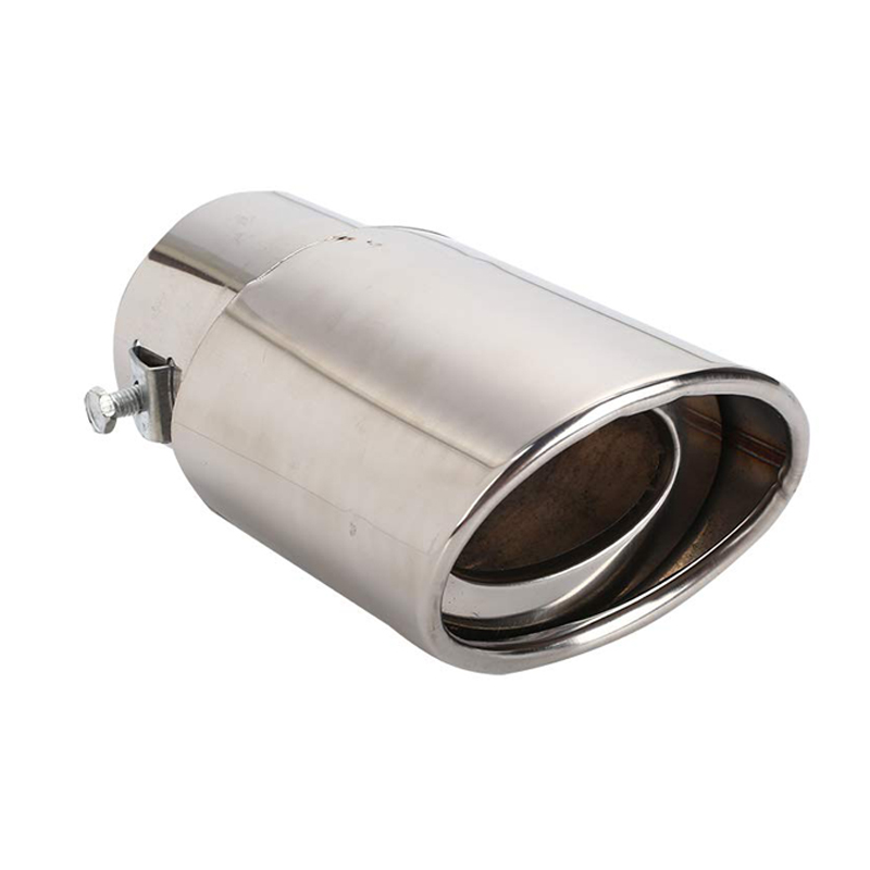 Top-Longer TL-Stainless Steel Exhaust5 Stainless Steel Exhaust Tailpipe Muffler Tip Trim