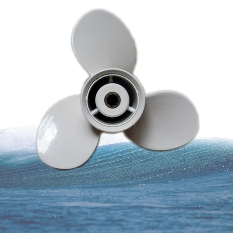 Stainless Steel Outboard Propeller 9-1//4X10 for Yamaha 9.9-20HP Engines