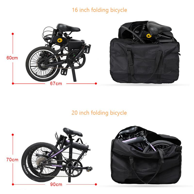 "Bike Storage Bag 14/""-22/""Waterproof Folding Bicycle Pack Bag Travel Pouch Loading"