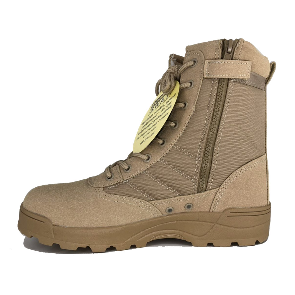 Best Mens Work Boots 2020 Tactical Military Ankle Boots Cordura Desert Combat Army Hiking