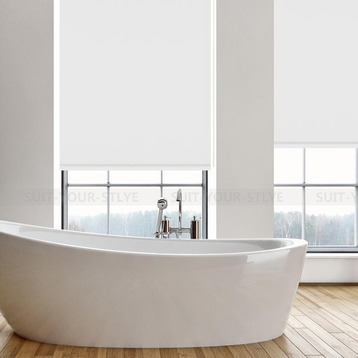 verdunkelungsrollo klemmfix thermorollo ohne bohren kettenzug seitenzug rollos ebay. Black Bedroom Furniture Sets. Home Design Ideas