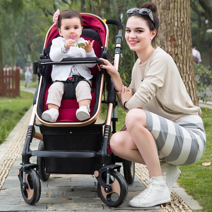 Kids b b poussette canne inclinable poussette buggy - Laver un bebe dans une douche ...
